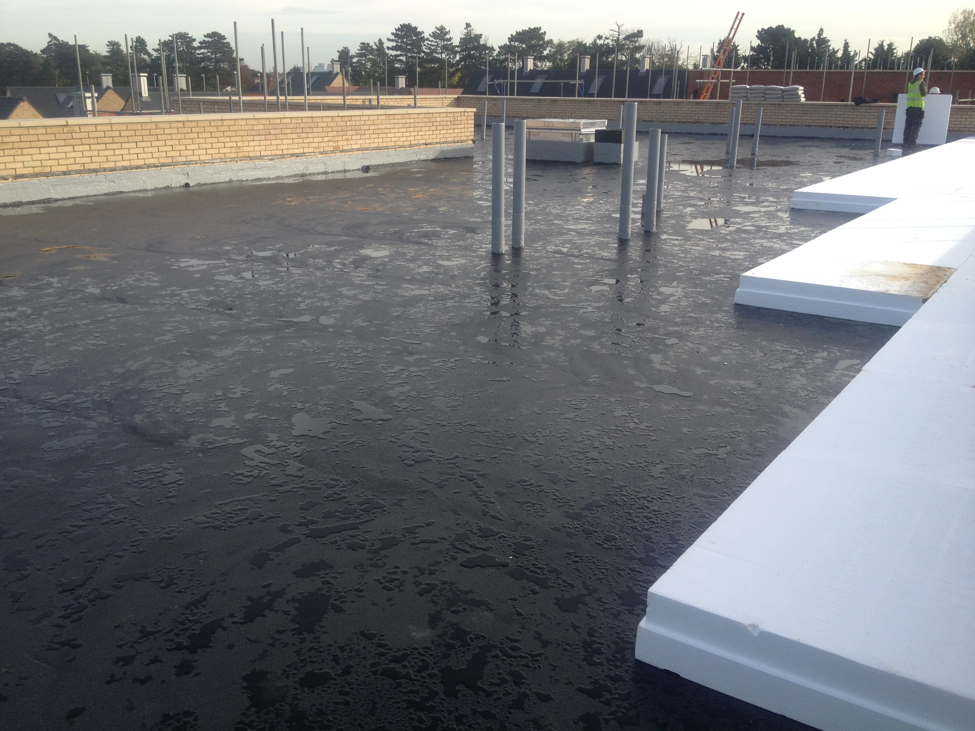 Flat Roof Waterproofing : Deckmaster bm flat roof waterproofing systems commercial