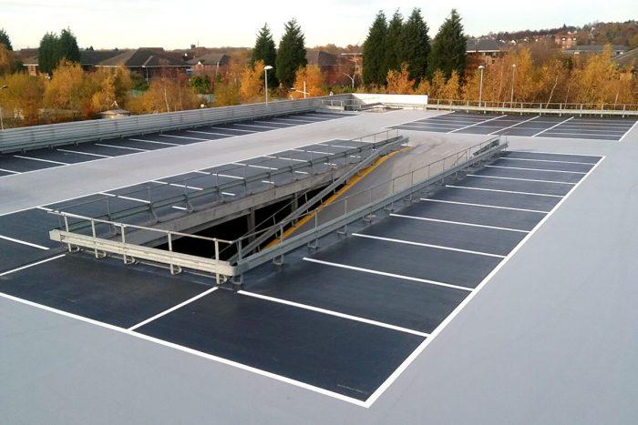 Upper deck at Mercedes Nottingham
