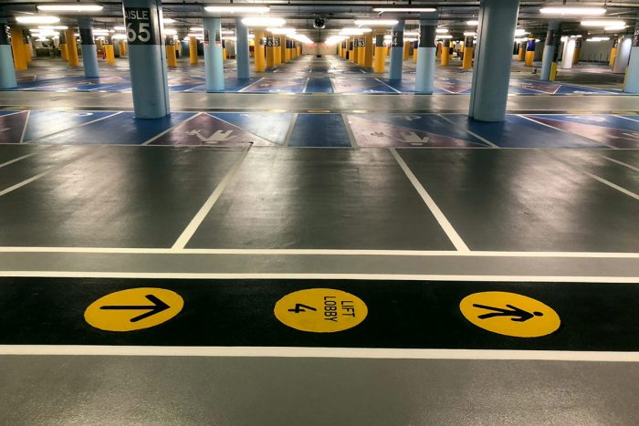 Parking Bays at White City