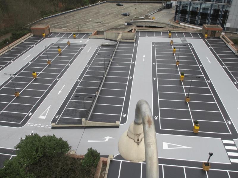 EMC2 Chiswick Car Park Facility Refurbishment